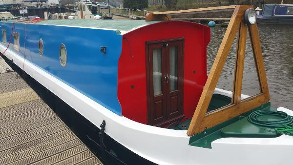 57' Cruiser Stern Narrow Boat