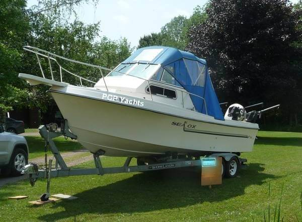 Sea Ox 230C Walkaround 1987 Sea Ox 230C Walkaround for sale in Pulaski, NY