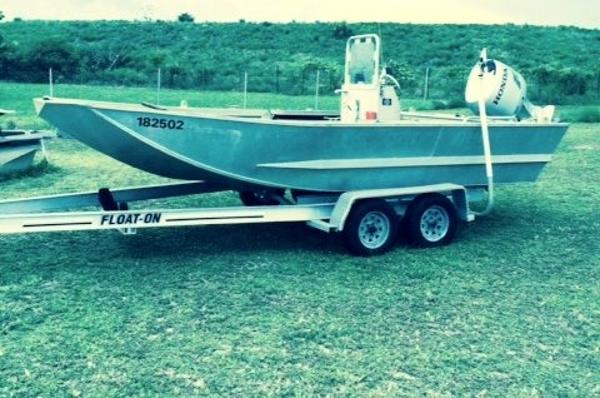 "Custom Built 18' x 8'3"" Heavy Duty Aluminum Ex USCG Work Boat"