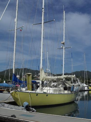 Spencer Ketch Forward Port