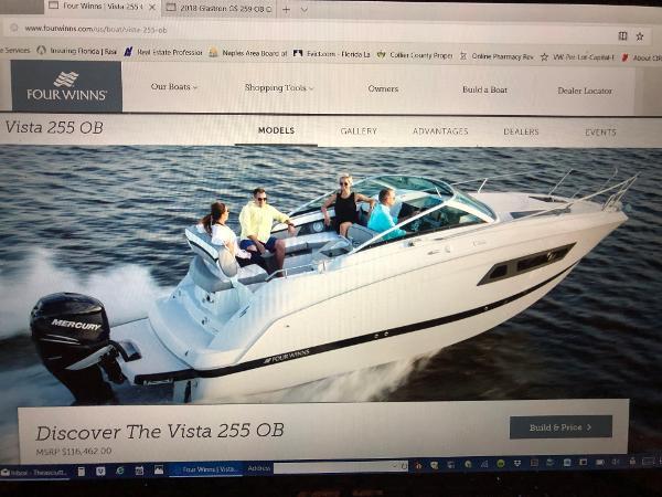Four Winns Vista V 255 OB