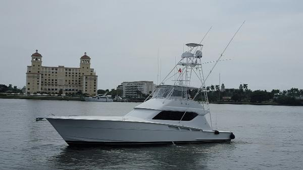 Hatteras 60 Convertible Gameday