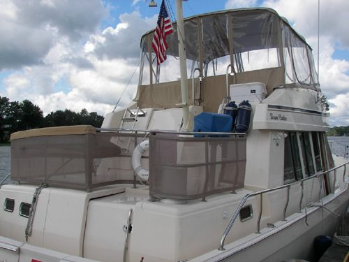 Mainship TWIN DIESEL AFT CABIN Profile