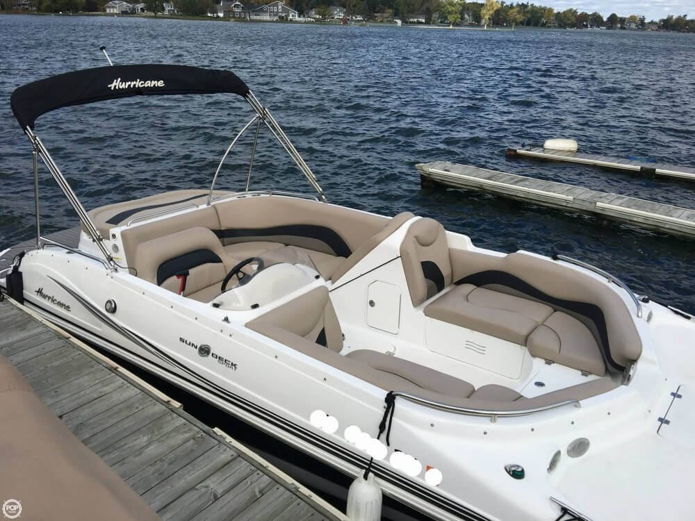 Used hurricane boats for sale 10 for Hurricane sundeck for sale