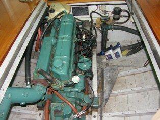 Palmer 150hp, rebuilt 1995