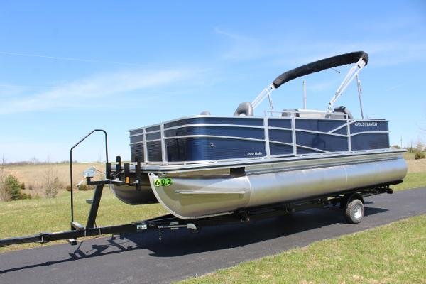 Crestliner 200 Fish - 115hp