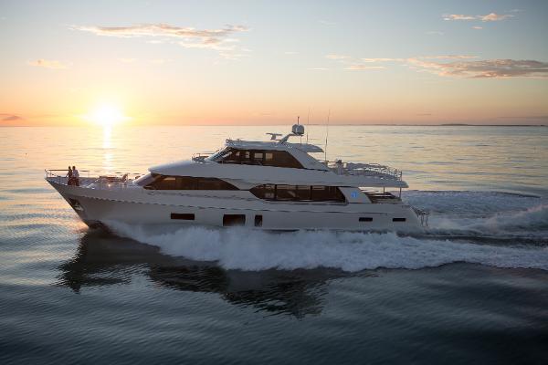 Ocean Alexander 100 Motor Yacht Photos of sistership