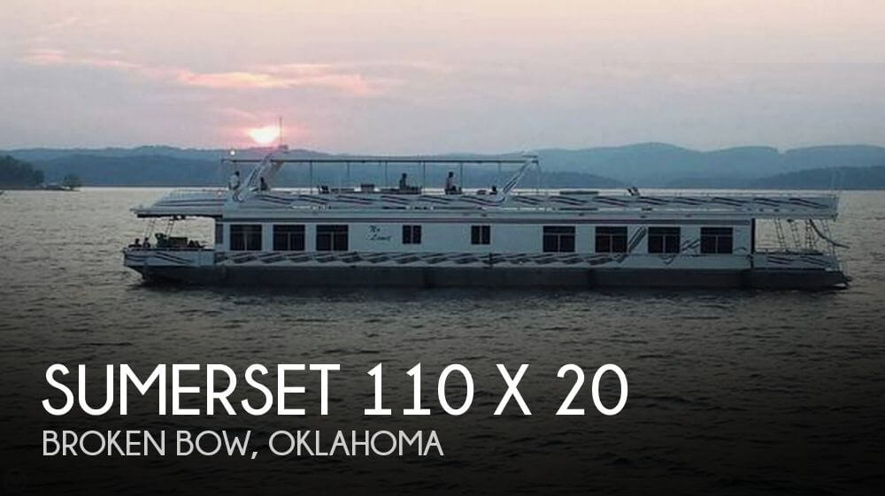 Sumerset Houseboats 110 x 20 2004 Sumerset 110 x 20 for sale in Broken Bow, OK