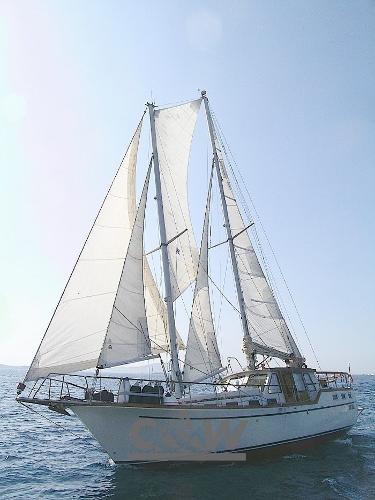 Nauticat 44' ketch 01