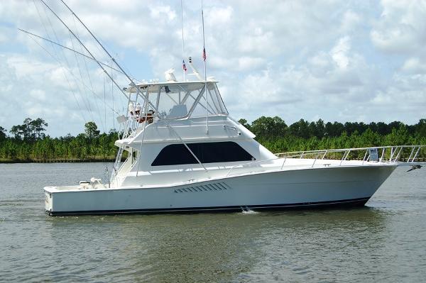 Viking 47 Convertible Profile