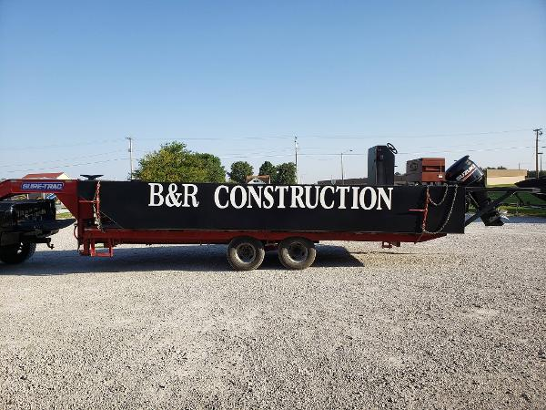 Custom Steel Hull Push Boat/Work Boat