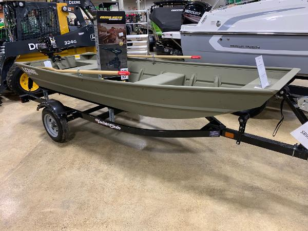 Lowe 1236 Jon Boat Shown with options
