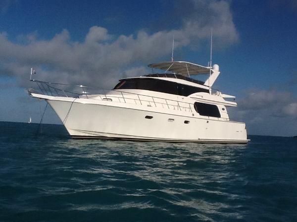 Symbol Yachts Motoryacht Raised Pilothouse 56' Time Profile