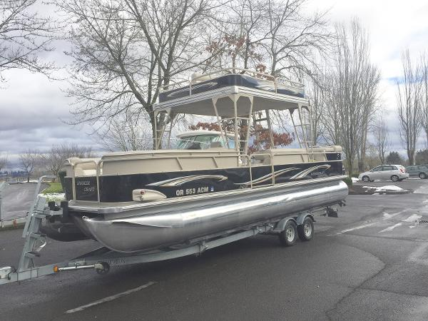 Smoker-craft 27 Pontoon