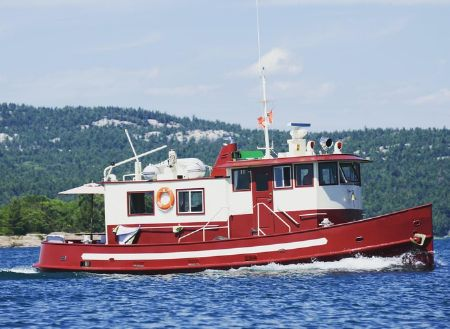 1945 Custom 40' Tug/Trawler/Liveaboard, Gore Bay Canada - boats com