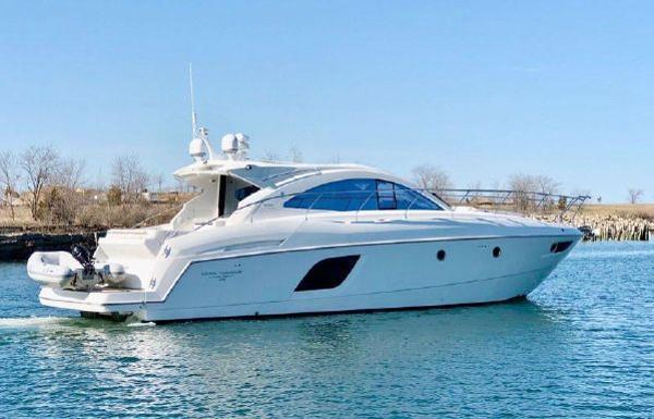 Beneteau GRAN TURISMO 49 Hull Profile stbd