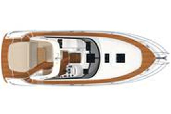 Bavaria Sport 35 Upper Deck Layout Plan
