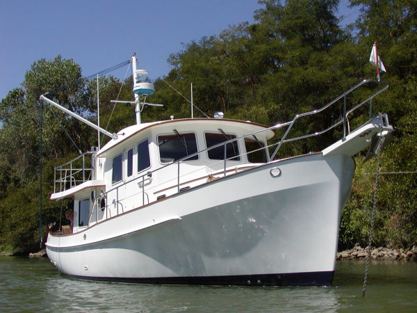 Krogen 39 Pilothouse Trawler Stabilized Photo 1