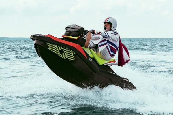 Sea-Doo SPARK TRIXX 2up Manufacturer Provided Image