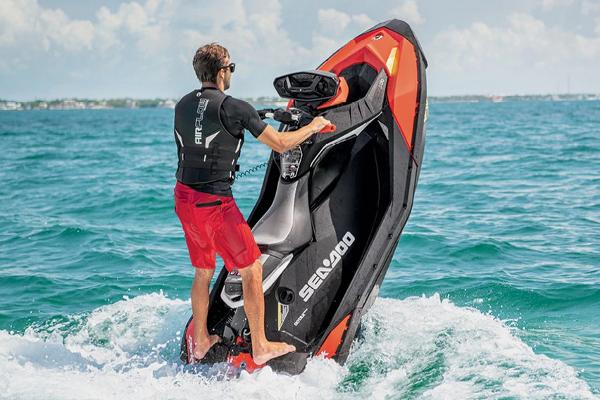 Sea-Doo SPARK TRIXX 3up Manufacturer Provided Image