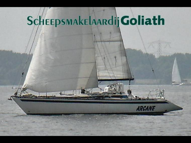 KALIK 33 Vertrekkersschip