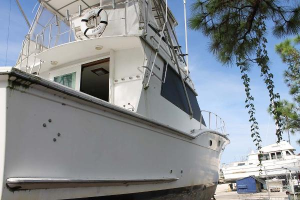 Hatteras Convertible Profile