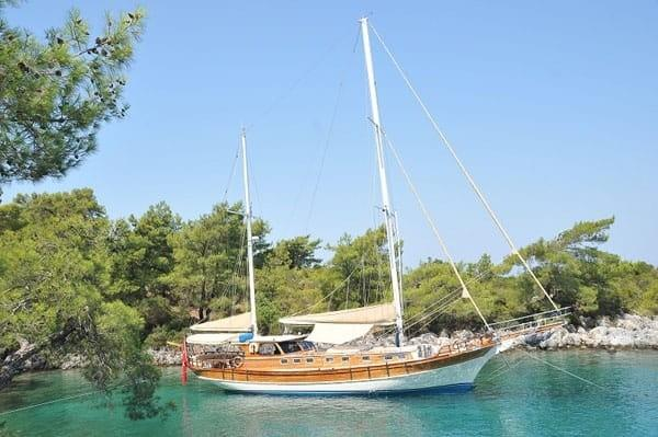 Traditional Custom Built Ketch