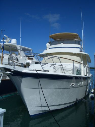 1987 63' Hatteras Motor yacht