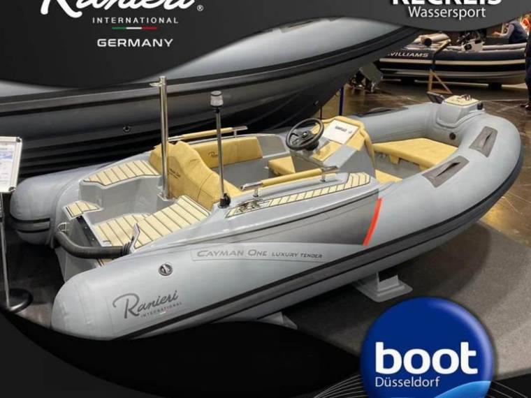 Ranieri Cayman one mit Honda BF50 Messepaketangebot