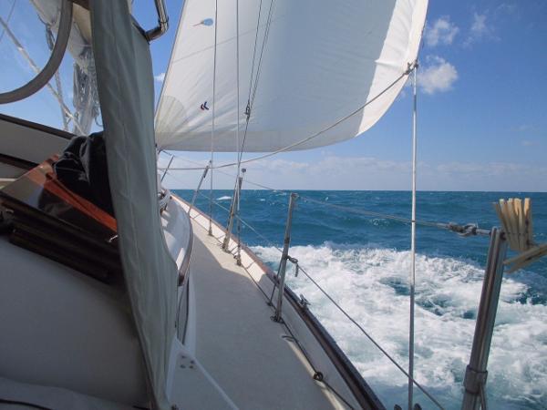 Pearson 365 Pearson Under sail