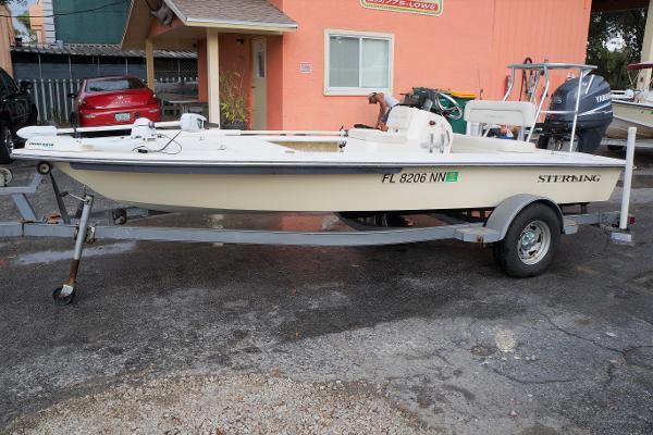 Sterling 180 TS Flats Boat