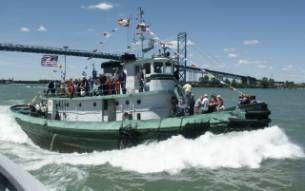 Tugboat Steel Model Bow Tug Photo 1
