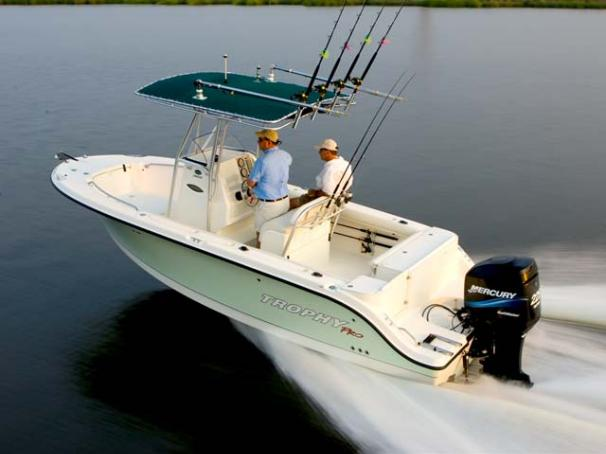 Trophy 2103 Center Console Manufacturer Provided Image
