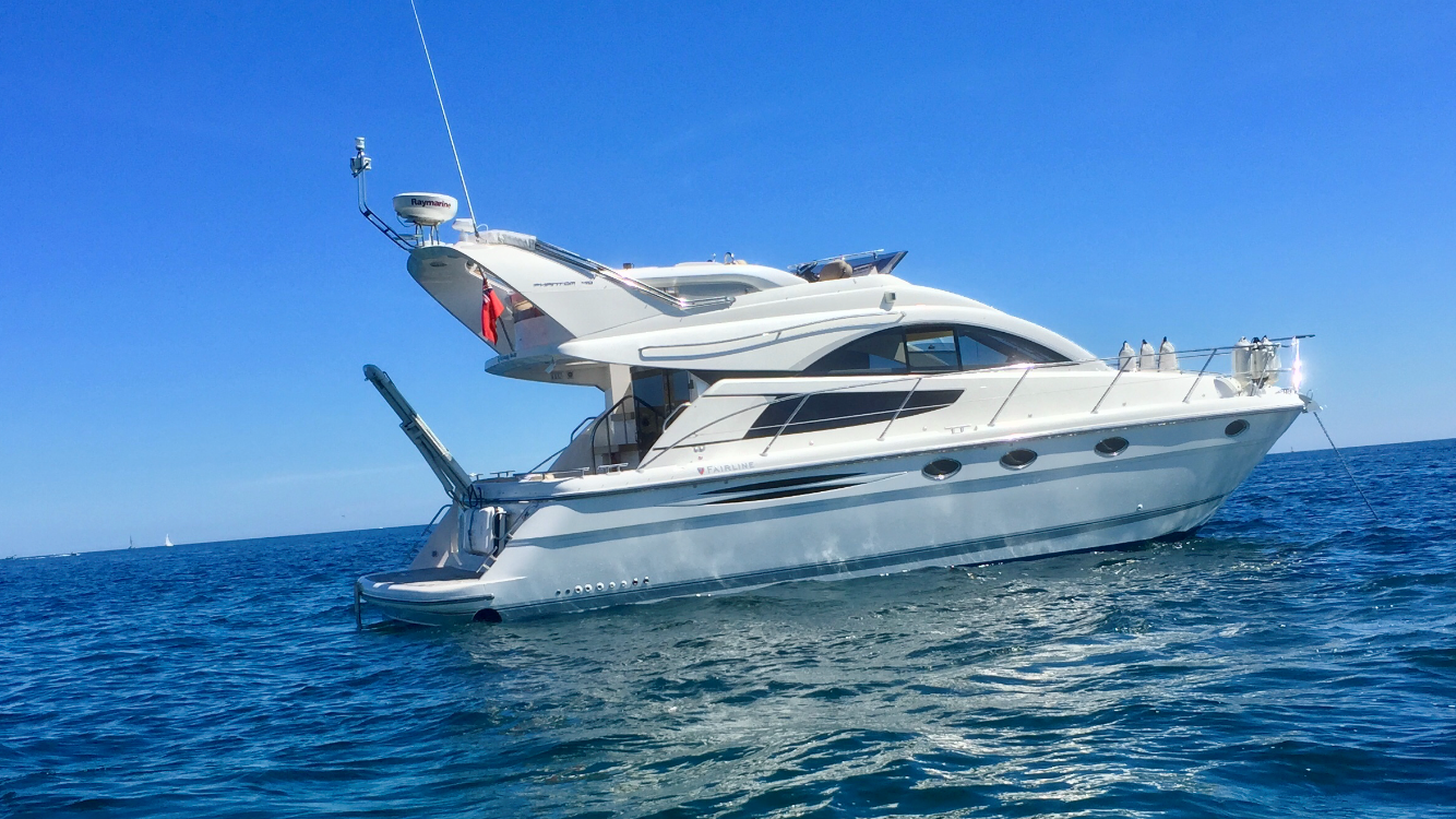 Fairline Phantom 40 Fairline Phantom 40 Actual Boat