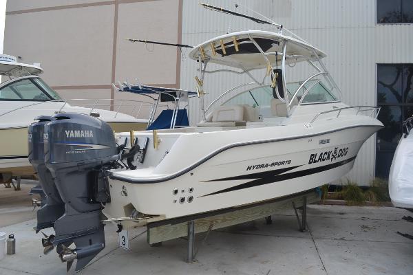 Hydrasports 2900 VX Starboard Profile