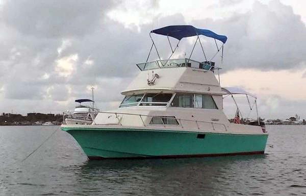 Stamas Flybridge Sedan Cruiser Main Profile