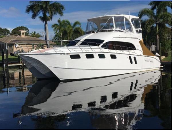 Naval Yachts 50 Yacht Cat Port Side
