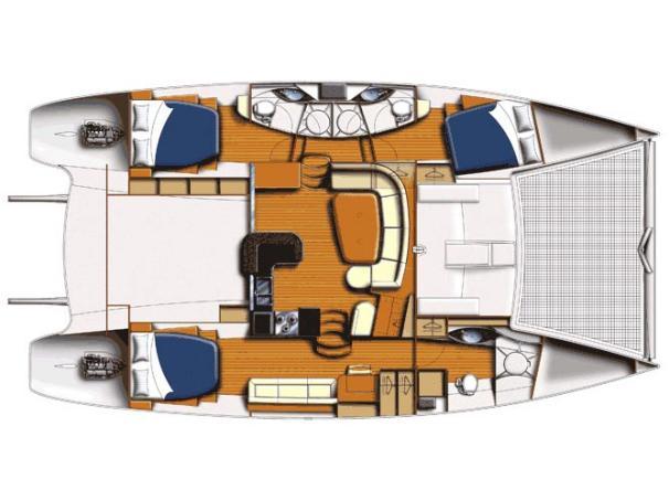 3 Cabin layout.