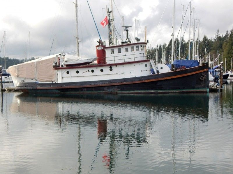 Converted Tug Historic 78 Foot Workboat