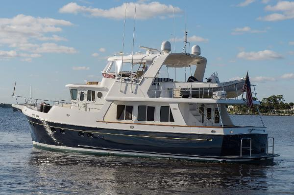 Selene 53 Trawler Port Profile