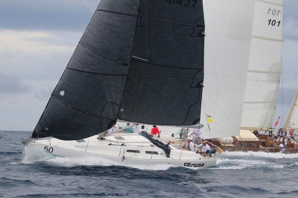 Dehler Var 37 Varuna at the 2017 St Thomas International Regatta