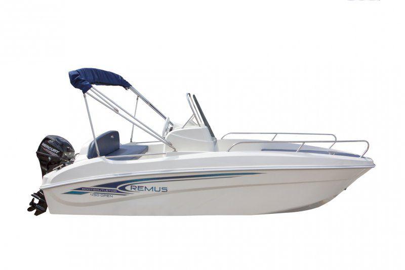Remus 450 open Remus 450 open offen sportboot konsole