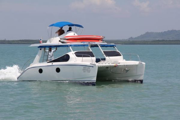 Custom Made Open Catamaran 29