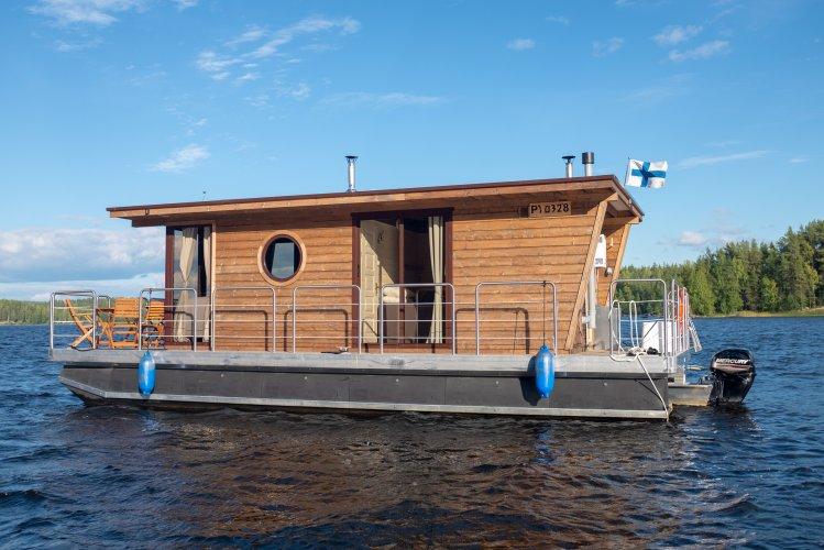 Nordic Houseboat Eco Wood 23m2