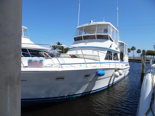 Viking 44 Aft Cabin Motor Yacht Port Side