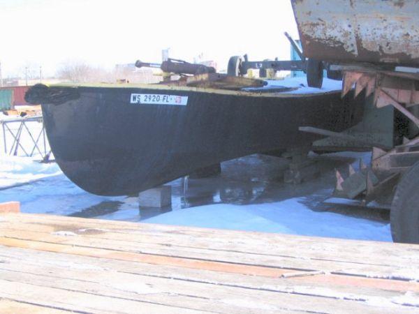 Steel Open Work Boat Photo 1