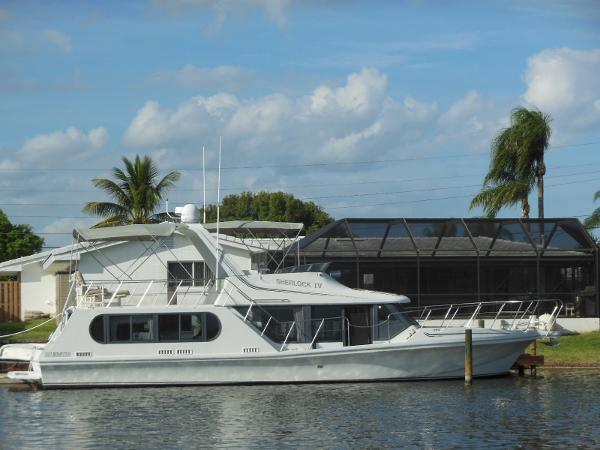 Bluewater Coastal Cruiser Starboard Side Profile