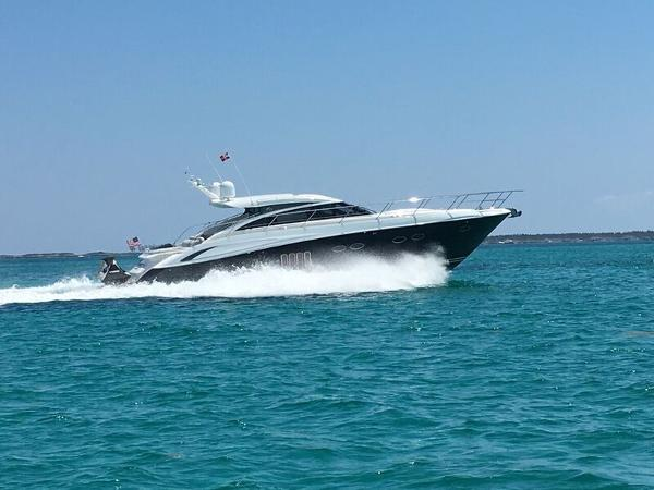 Princess V62 Starboard Running Shot