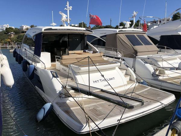 Fairline Targa 62 GT with gyro stabilisers