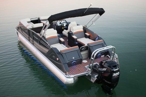 Crest Pontoon Boats Savannah 250 NX SLR2